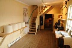 魁北克,圣徒最初的乳酪牛奶店Perron 免版税库存照片