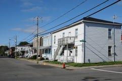 魁北克,市Trois Rivieres在摩丽丝区 免版税库存图片