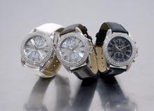 魅力三块手表 库存照片