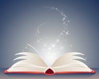 魔术书 库存例证