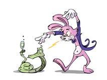 魔术兔子 向量例证