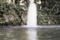 魔术喷泉 免版税库存图片
