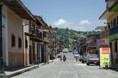 魔术城镇 Xico,韦拉克鲁斯,墨西哥 库存照片