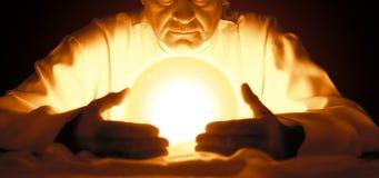 魔术师和占星术 免版税库存照片