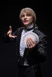 魔术师完善精通  免版税图库摄影