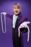 魔术师完善精通  库存图片