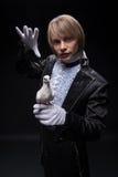 魔术师完善精通  免版税库存照片