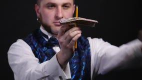 魔术师显示与美金4k的表现 影视素材