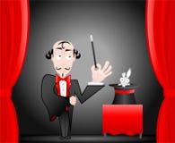 魔术师显示 库存照片