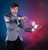 年轻魔术师 免版税图库摄影