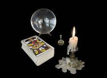 魔术师的工具 免版税库存图片