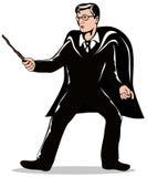 魔术师鞭子 免版税库存图片