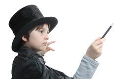 魔术师年轻人 库存照片