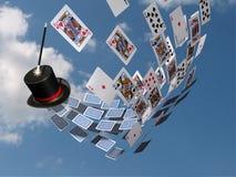 魔术接触 免版税图库摄影