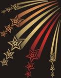 魔术星形 免版税库存图片