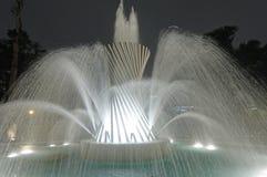 魔术水电路利马秘鲁 免版税库存照片