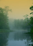 魔术河 库存图片