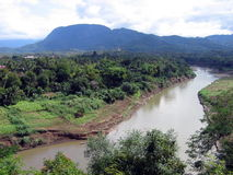魔术湄公河 库存照片