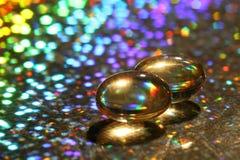 魔术的capsulas 免版税库存照片