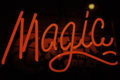 魔术符号 库存图片