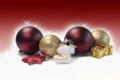 魔术背景的圣诞节 免版税图库摄影