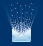 魔术邮件 库存图片