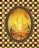 魔术镜子 免版税库存照片