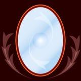 魔术镜子 向量例证