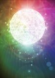魔术mirrorball 免版税库存照片