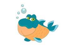 鱼一点 免版税库存图片