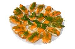 鱼三明治 库存图片