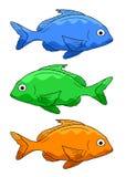 鱼三 库存照片