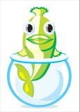鱼向量 库存例证