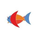 鱼商标 免版税图库摄影
