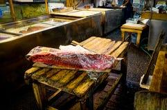 鱼市东京tsukiji 库存照片