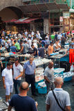 鱼市,卡塔尼亚 库存图片