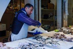 鱼市,威尼斯 免版税库存图片