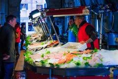 鱼市,威尼斯 免版税库存照片