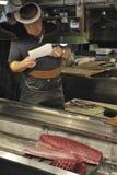 鱼市tsukiji 图库摄影