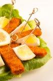 鱼开胃菜 图库摄影