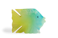 鱼形状纪念品 库存图片
