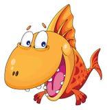 鱼微笑 图库摄影