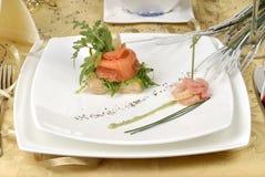 鱼快餐 免版税图库摄影