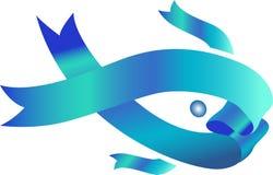 鱼标志 免版税图库摄影