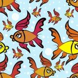鱼样式 免版税库存照片
