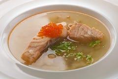 鱼汤 免版税图库摄影