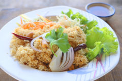 鱼油煎的泰国 库存照片