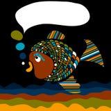 鱼消息 向量例证