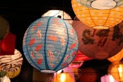 鱼灯笼在堪培拉 免版税库存照片