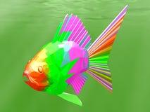 鱼玻璃 免版税库存图片